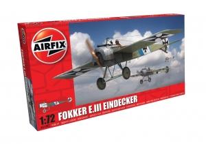 Airfix A01087 Fokker E.III Eindecker - 1:72