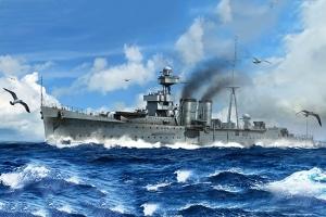 Trumpeter 05362 HMS Calcutta - 1:350