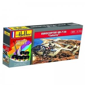 Heller 56379 Starter Set - Eurocopter UH 72A Lakota - 1:72
