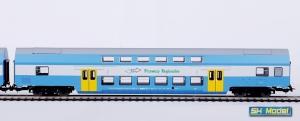 Wagon osobowy piętrowy 2 kl B16mnopux 50 51 26-08 068-6 PKP Przewozy Regionalne
