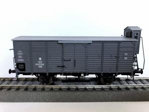 Brawa 49780 Wagon towarowy kryty PKP Kdth 0 145 246, Ep. III