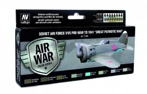 Zestaw Air War 8 farb - Soviet Air Force VVS Pre-War to 1941