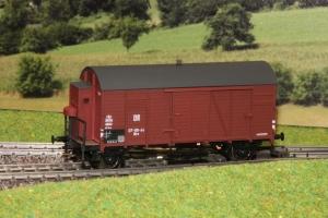 Wagon towarowy kryty Oppeln Mrs (Bremserhaus), DR, Ep. III