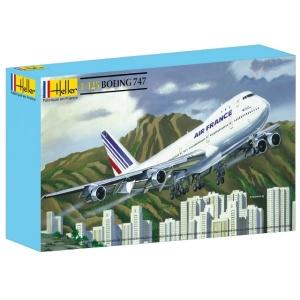 Heller 80459 Boeing 747 Air France - 1:125