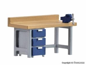 Kibri 38675 H0 Akcesoria - Stół warsztatowy z imadłem