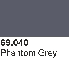 Vallejo 69040 Mecha Color 69040 Phantom Grey