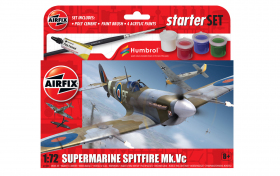 Airfix 55001 Small Beginners Set - Supermarine Spitfire MkVc - 1:72