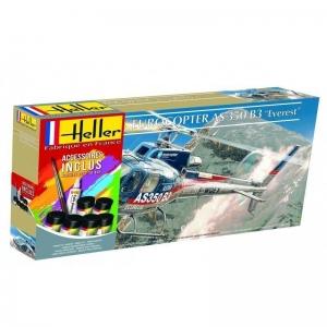 Heller 56488 Starter Set - Eurocopter AS350 B3 Everest - 1:48