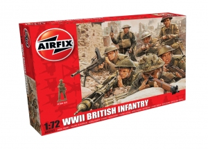 Airfix A00763 WWII British Infantry N. Europe - 1:76