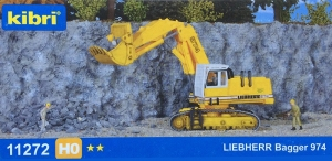 Kibri 11272 H0 Koparka Liebherr 974