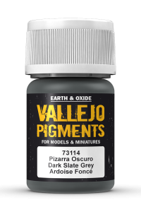 Vallejo 73114 Pigment 73114 Dark Slate Grey