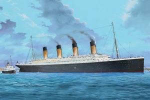 Trumpeter 03719 R.M.S. Titanic z świetleniem LED - 1:200