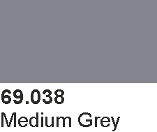 Mecha Color 69038 Medium Grey