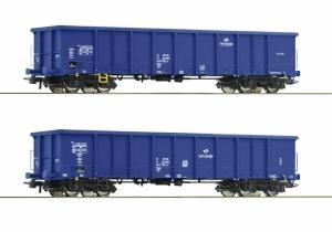 Roco 76044 Zestaw 2 węglarek Eanos, PKP Cargo, Ep. VI