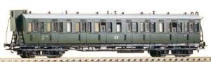 Wagon pasażerski Bh,B4p, DR, Ep. III