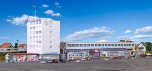 Kibri 37517 N Dworzec kolejowy Kehl z oświetleniem