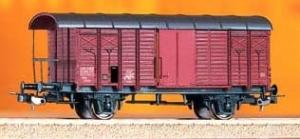 Wagon towarowy kryty K3, SBB CFF, Gms, Ep. IV