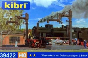 Kibri 39422 Żuraw do nawadniania parowozów, 2 szt.