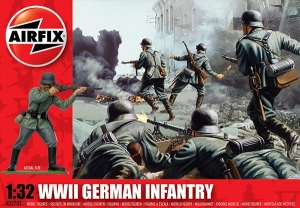 WWII German Infantry 1:32