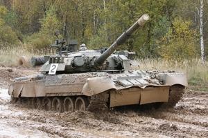 Trumpeter 09525 Russian T-80U MBT - 1:35