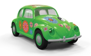 Airfix J6031 Quickbuild - VW Beetle Flower-Power