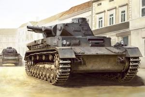 Hobby Boss 80130 German Panzerkampfwagen IV Ausf C - 1:35