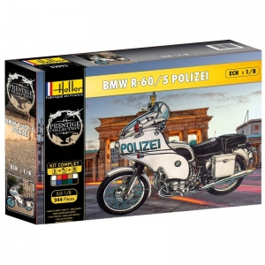 Heller 52993 Starter Set - BMW R-60/5 Polizei