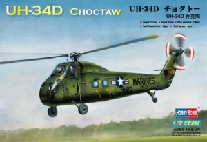Hobby Boss 87222 Helikopter UH-34D Choctaw - 1:72