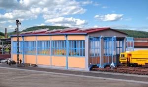 Kibri 39450 H0 Lokomotywownia trzystanowiskowa