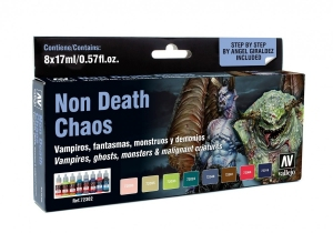 Vallejo 72302 Zestaw Game Color 8 farb - Non Death Chaos