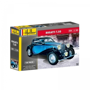 Heller 80706 Bugatti T.50 1:24
