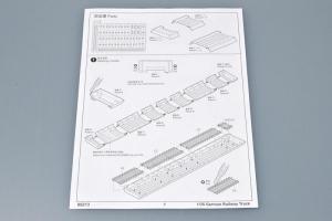 Trumpeter 00213 Niemieckie tory kolejowe dł 900 mm  - 1:35