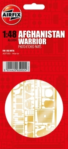 Airfix A65004 Części fototrawione - BAE Warrior Afghanistan 1:48