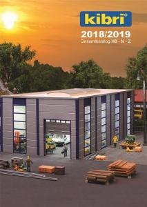 Kibri 99904 Katalog Kibri 2018/2019 DE/EN