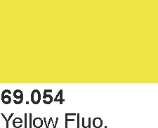 Mecha Color 69054 Yellow Fluorescent
