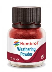 Humbrol AV0006 Pigment Weathering Powder 28 ml - Iron Oxide AV0006
