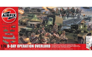 Airfix A50162A Gift Set - D-Day 75th Anniversary Operation Overlord - 1:76
