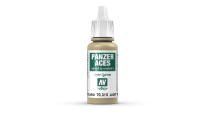 Vallejo 70315 Panzer Aces 70315 Light Mud