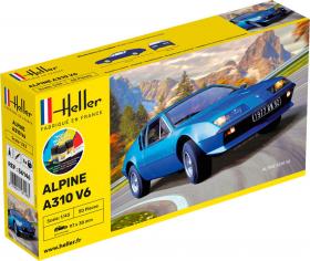 Heller 56146 Starter Set - Alpine A310 - 1:43