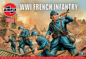 Airfix A00728V WW1 French Infantry - 1:76