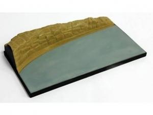 Heller 81251 Diorama - zakręt droga - 1:43