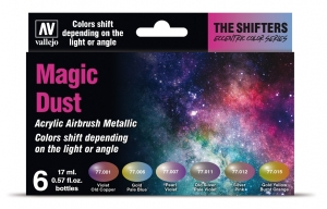 Vallejo 77090 Eccentric The Shifters Zestaw 6 farb - Magic Dust