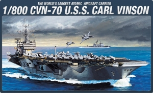 Academy 14209 CVN-70 USS Carl Vinson