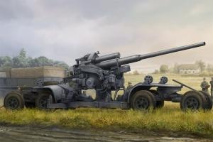 Hobbby Boss 84545 Niemieckie działo przeciwlotnicze 12,8 cm FlaK 40 - 1:35