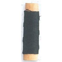 Lina bawełniana czarna 0,15 mm, 40 m