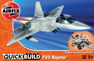 Airfix J6005 Quickbuild - F22 Raptor