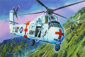 Trumpeter 02883 Helikopter CH-34 US ARMY Rescue - 1:48
