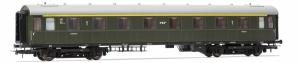 Wagon pasażerski 1 kl. PKP 5105 serii Ahxz (ex AB4ü-26a), st. Gdynia, Ep. IIIc