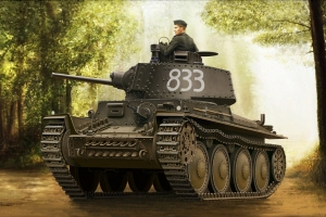 Hobby Boss 80136 German Panzer Kpfw.38(t) Ausf.E/F - 1:35