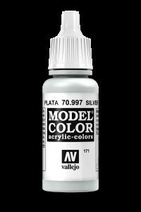 Vallejo 70997 Model Color 70997 171 Silver